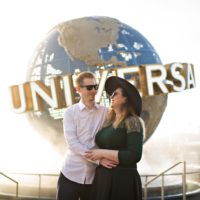 Harry Potter Engagement Session - Universal Orlando Engagement Session