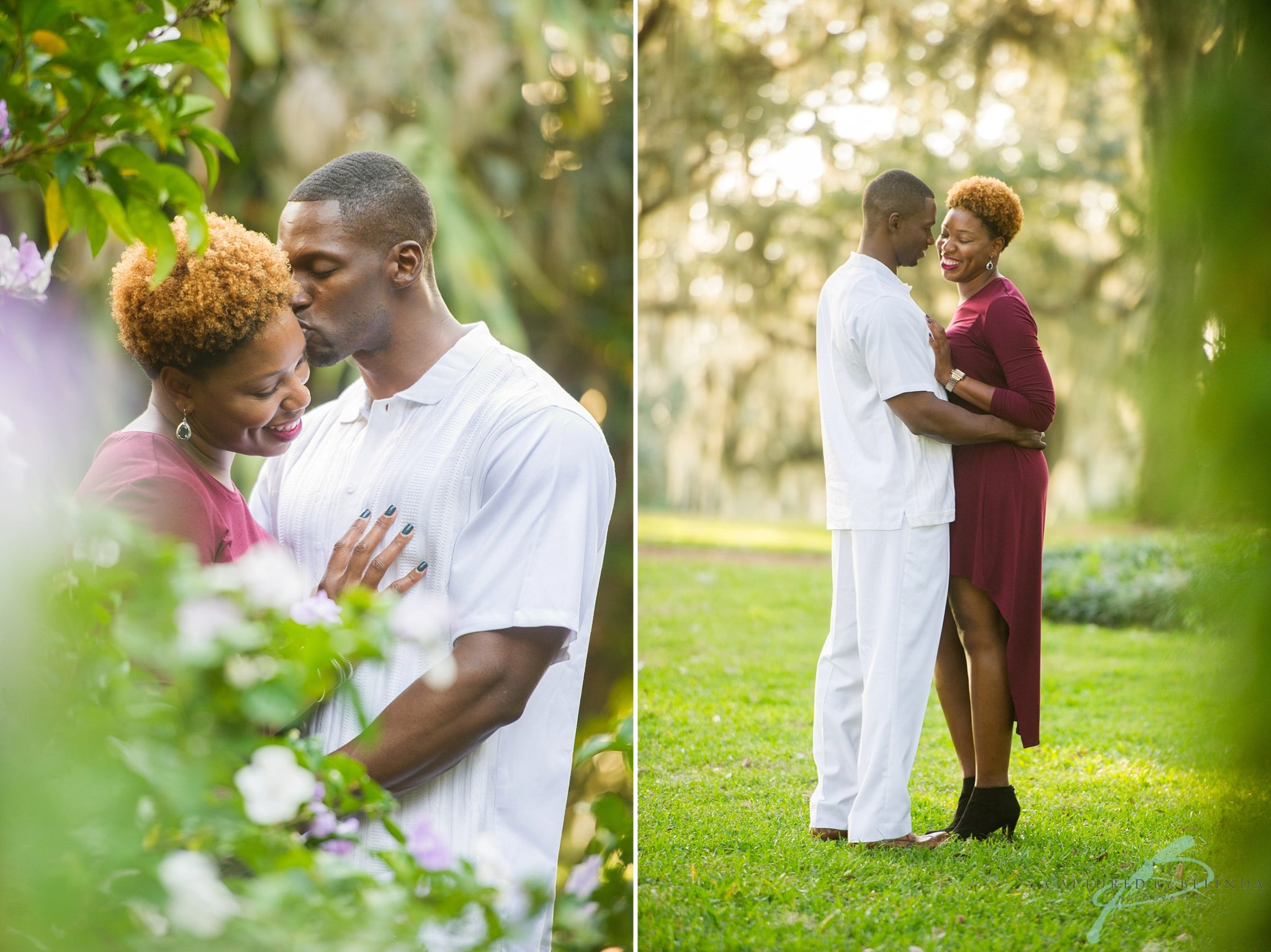 bok tower engagement session orlando wedding photographer