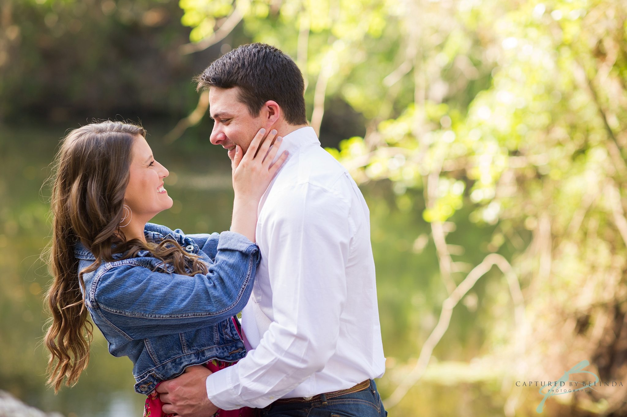 tampa engagement photographer hillsborough river state park